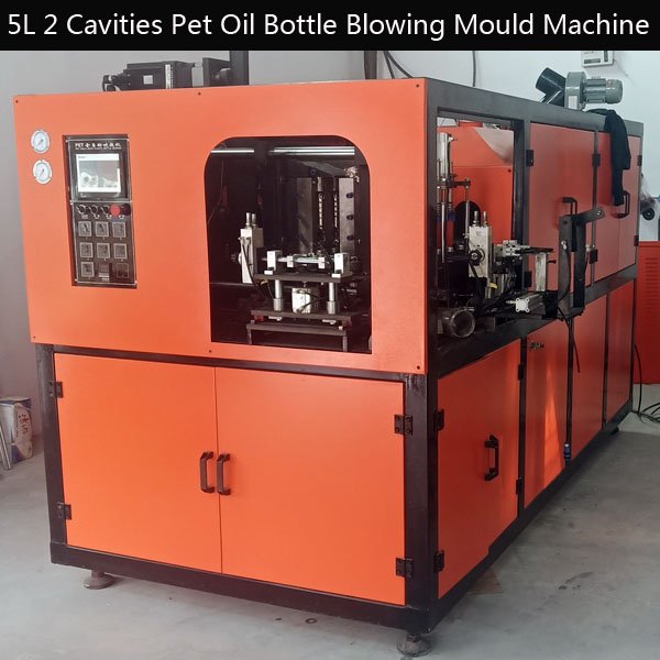 5L 2 Cavities Pet Oil Bottle Blowing Mould Machine